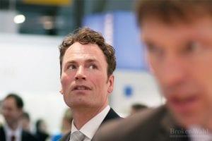 Kai Friedrich, CEO des Onlinebroker Cortal Consors, auf der Preisverleihung der Broker-Wahl 2012