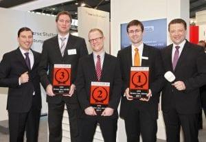 Die Sieger in der Kategorie CFD Broker.