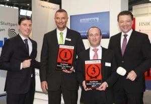 Die Sieger in der Kategorie Zertifikate Broker.