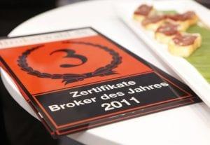3. Platz - Zertifikate Broker