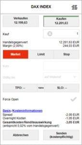 S Broker CFD App Order