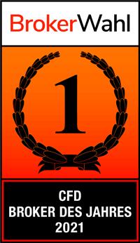 Brokerwahl 2021: Admirals erreicht den 1. Platz in der Kategorie CFD Broker