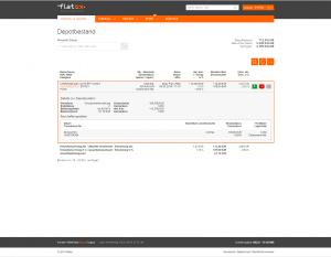 005 Webbasierte Handelsplattform Flatex