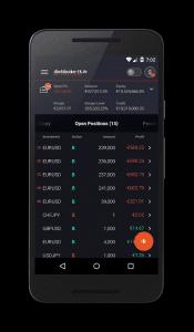 Direktbroker FX Sirix Mobile Android 4